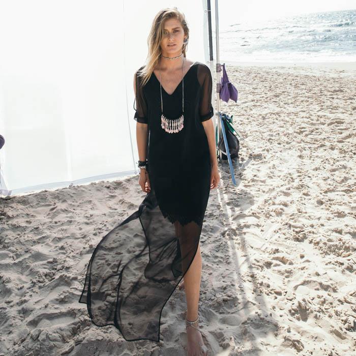 שמלת קראון שחורה