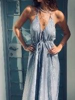 שמלת ערב קשירה FAVOLA