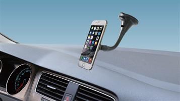 מחזיק טלפון נייד לרכב עם זרוע גמישה