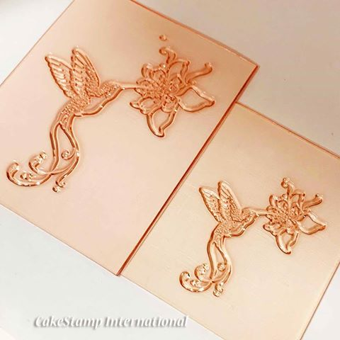 Hummingbird stamp-  small
