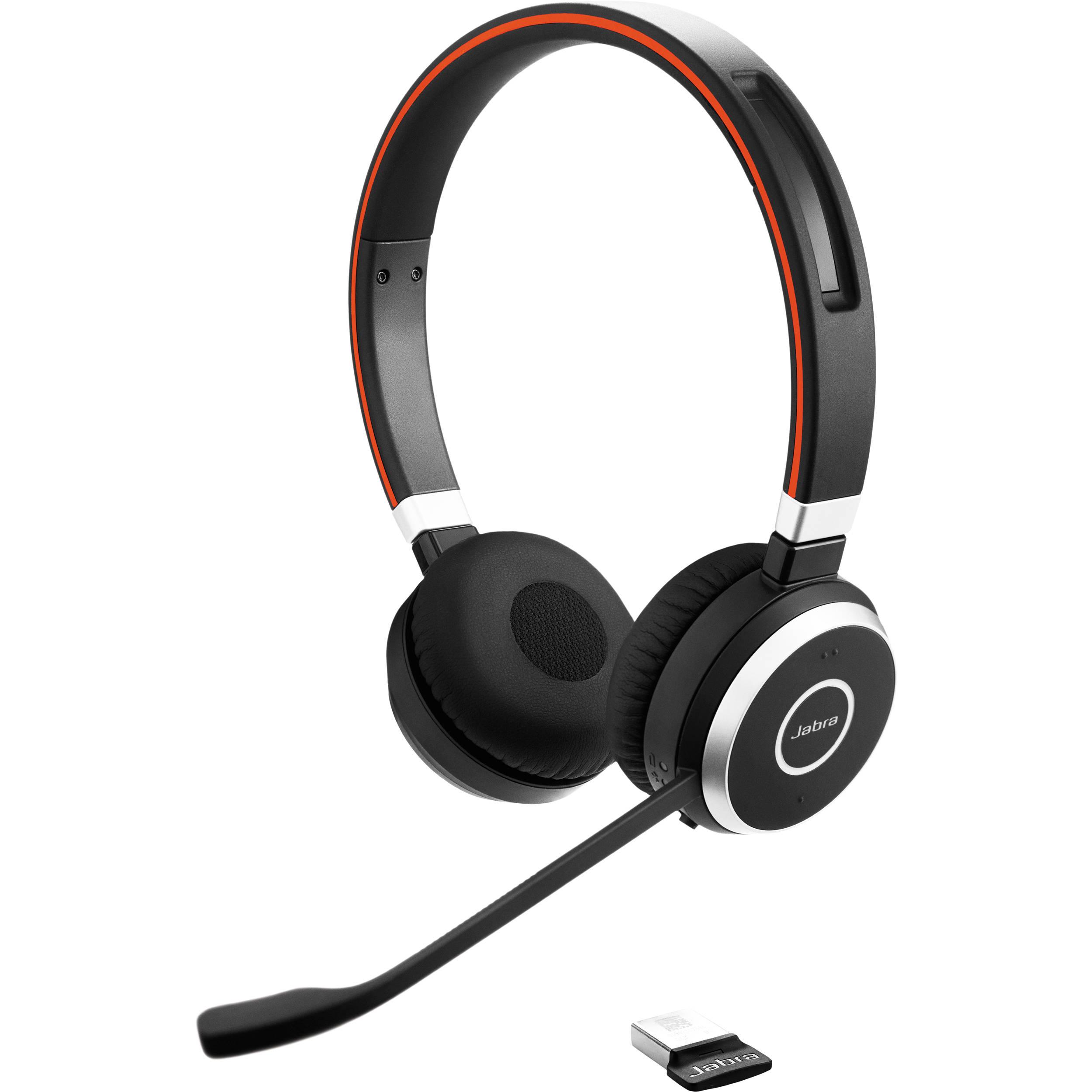 אוזניות JABRA EVOLVE 65 MS Stereo Bluetooth ג'אברה