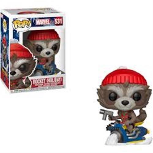 Pop Marvel Holiday  Rocket