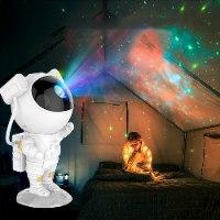 מנורת LED- בצורת אסטרונאוט