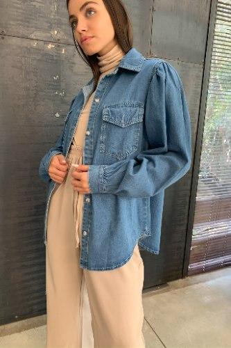 ג'קט/ חולצת ג׳ינס אלאניס