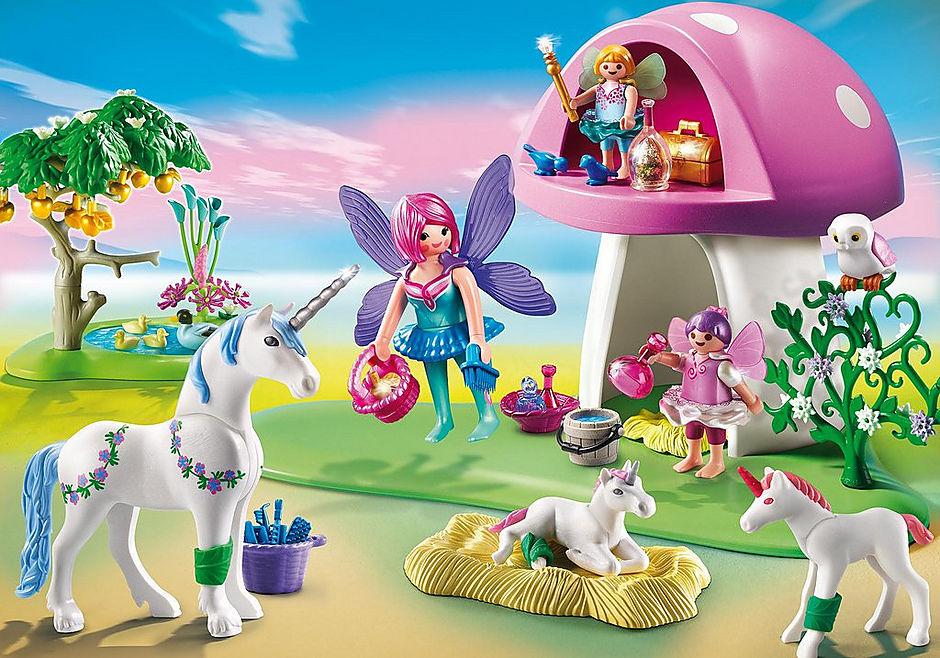 פיות - Playmobil Fairies - סינדיה