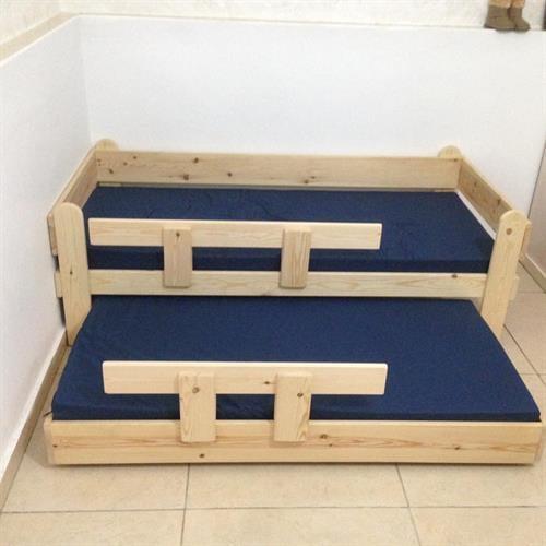 מיטת מעבר נפתחת לילדים מגיל שנתיים עד גיל 8