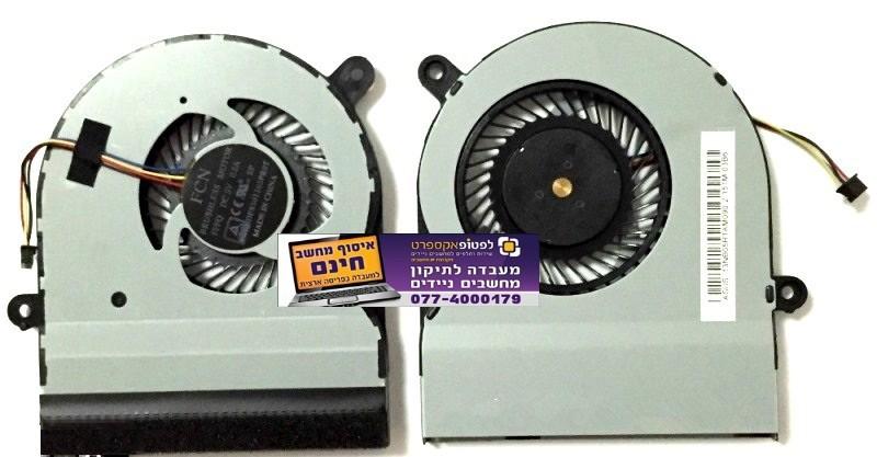 מאוורר לא תקין במחשב נייד אסוס - מאוורר חדש להחלפה ASUS TP500 TP500L TP500LN TP500LB DFS501105PR0T DC 5V 0.5A