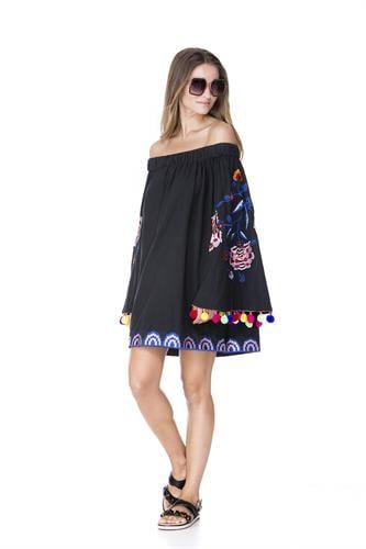 שמלת אמלפי שחורה