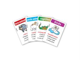 משחק רביעיות באנגלית gamelish | מדברים על חיות  talking about animals