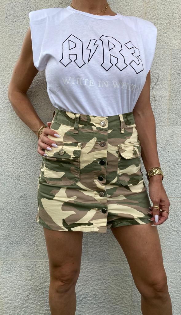 חצאית קומופלאג' ANTIGO