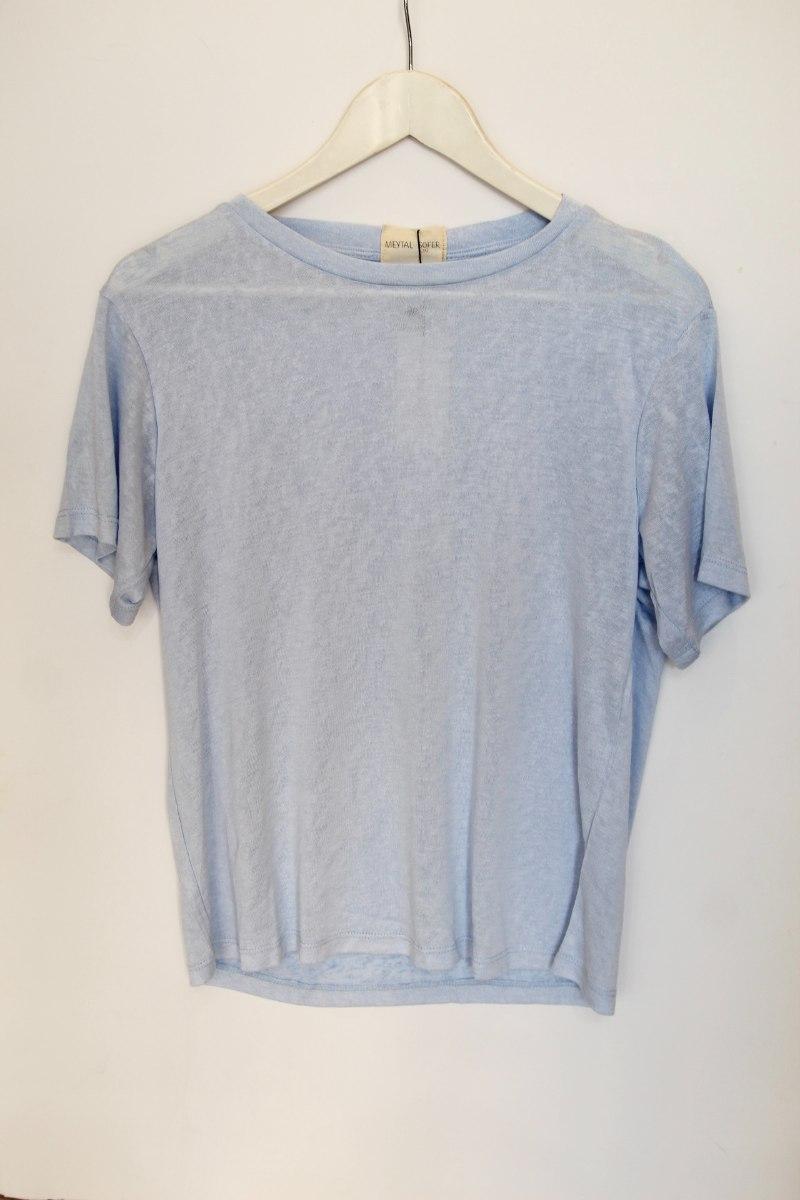 חולצת שיל כחול