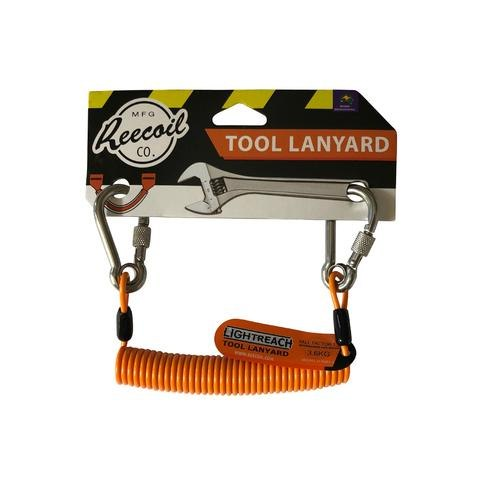 חוט אבטחה לולייני לאבטוח כלים-LIGHT-REACH TOOL LANYARD Reecoil
