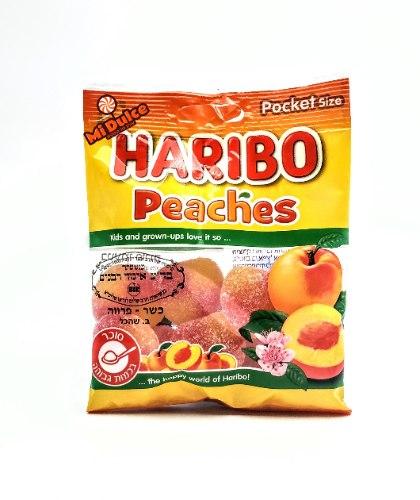 Haribo אפרסקים מסוכרים