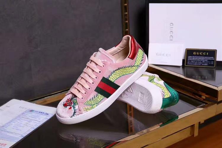נעלי ספורט Ace embroidered מבית GUCCI