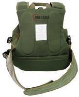 plate carrier with an inner belt - green