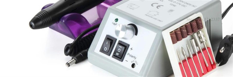מערכת מניקור פדיקור אלקטרונית מקצועית לעיצוב ציפורניים