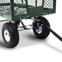 עגלת משא מלבנית ה חייה עם גלגלי אויר חזקים במיוחד