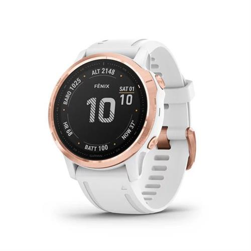 שעון דופק גרמין Garmin Fenix 6s Pro Rose Gold
