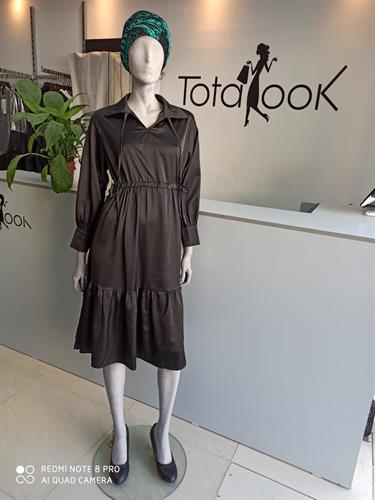 שמלת טופז שחורה