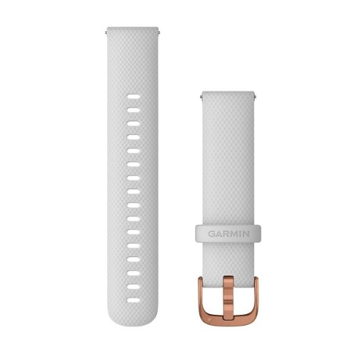 רצועה מקורית לשעון גרמין Garmin Vivoactive 4S Quick Release Bands 18mm לבן