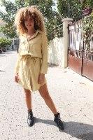 שמלת אילור צהובה
