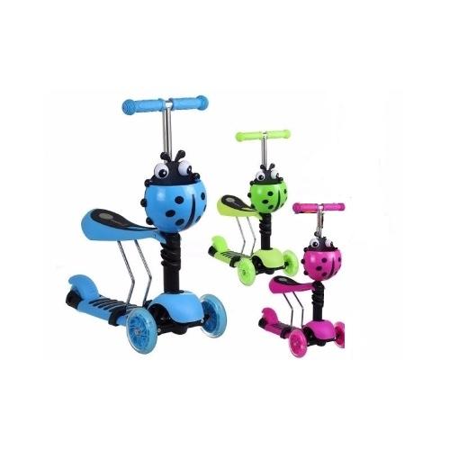 קורקינט הפוך 3 גלגלים + כיסא