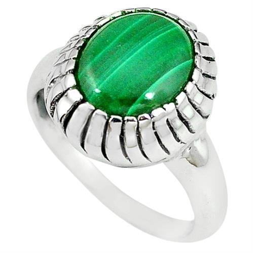 טבעת כסף משובצת אבן מלאכית  RG5727 | תכשיטי כסף 925 | טבעות כסף