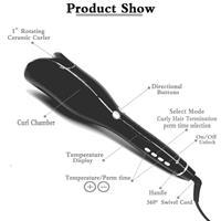 מסלסל שיער אוטומטי ב- 5 דקות