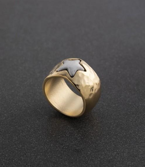טבעת DANON - חותם כוכב