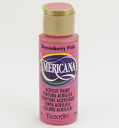 """צבע אמריקנה 59 מ""""ל Boysenberry DAO29"""