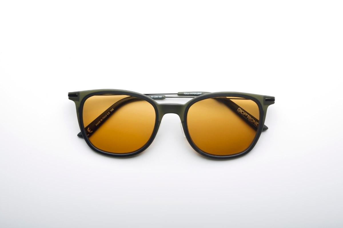 משקפי היפרלייט (נגד קרינה) דגם THE-0101GN צבע ירוק