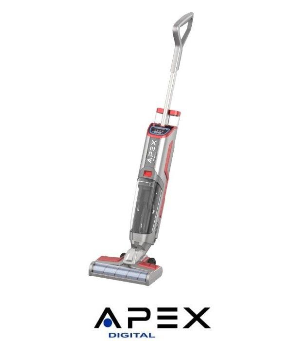 APEX שואב אבק ושוטף רצפות אלחוטי דגם APV60