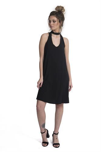 שמלה אליסון שחור