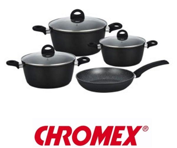 CHROMEX סט סירים 7 חלקים דגם CH801