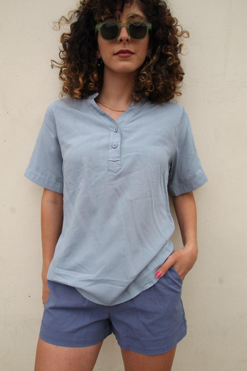 חולצת דוני כחולה