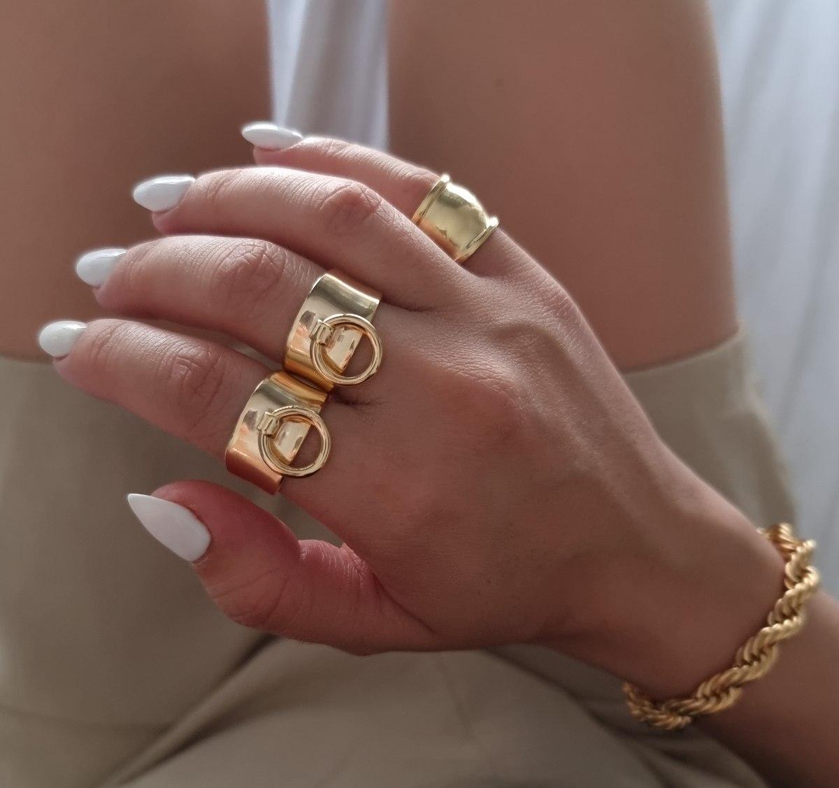טבעת אלינור זהב
