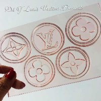 Louis Vuitton Elements Set Of 6 Embossed Stamps | Louis Vuitton Moulds