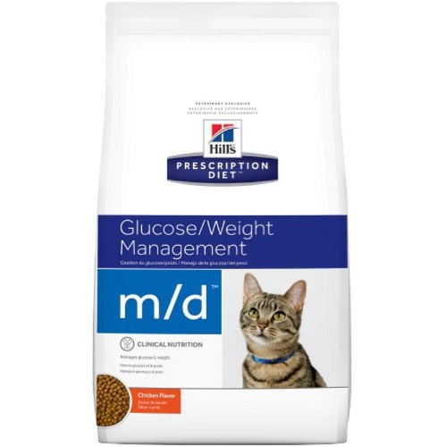 """מזון רפואי לחתולים הילס M/D 5 ק""""ג Hill's Prescription Diet M/D"""
