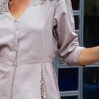חולצת ערב שנות ה-80 מרגשת מידה M/L
