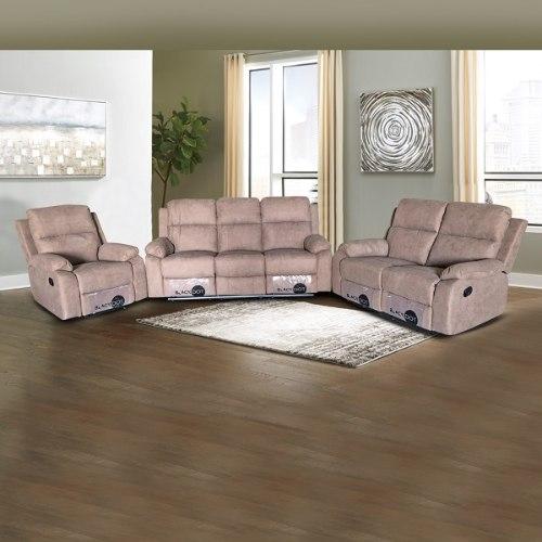 ספה 1+2+3 מושבים סיאסטה בד חום