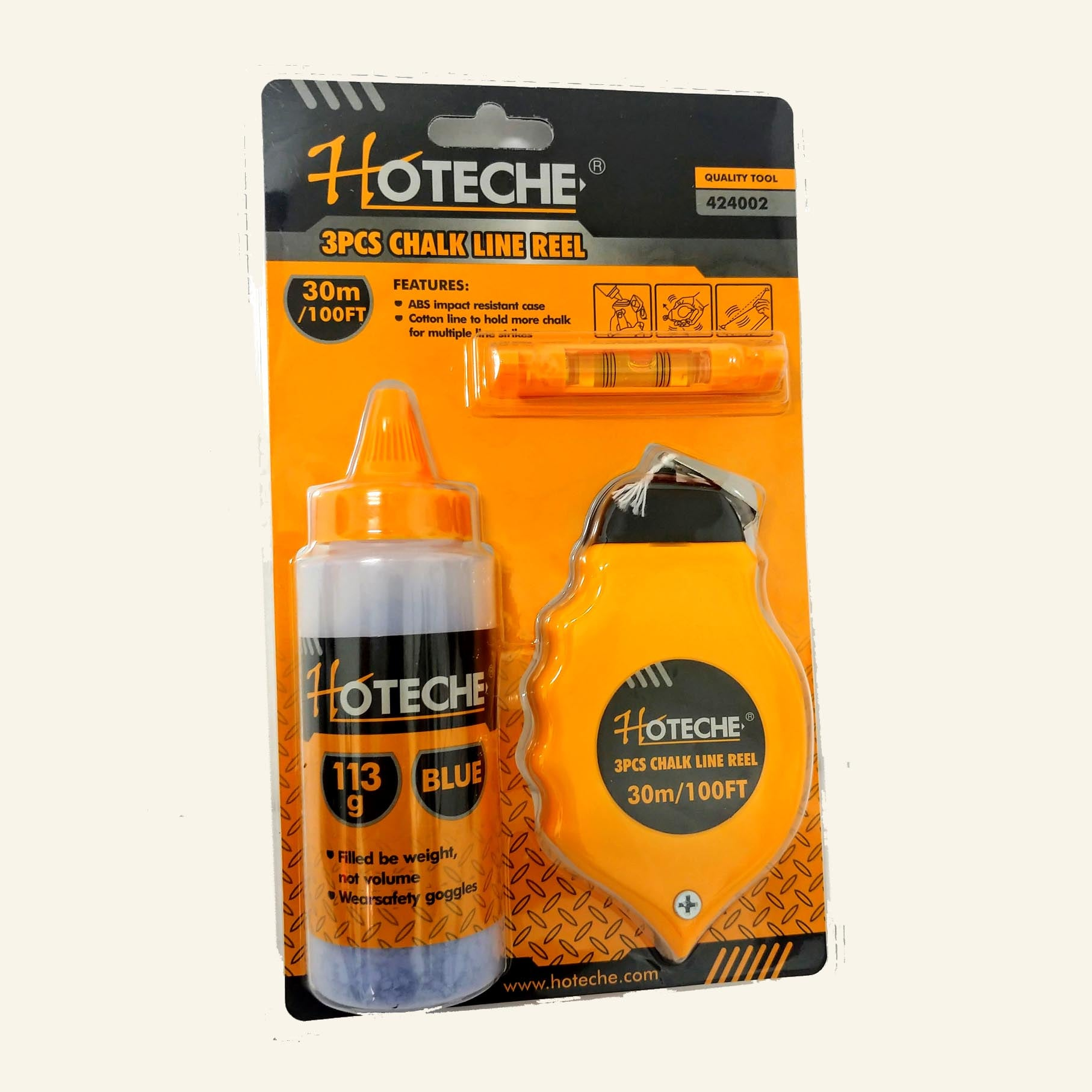 צ'וקליין - פיון עם חוט + פלס + אבקה מבית חברת HOTECHE
