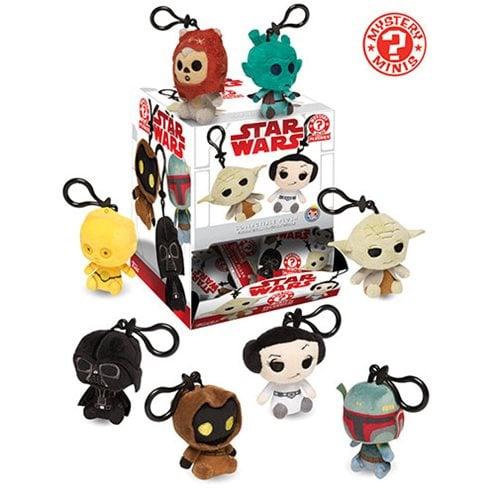 מחזיק מפתחות בובה הפתעה - מלחמת הכוכבים