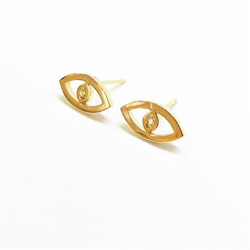 עגילי עין זהב
