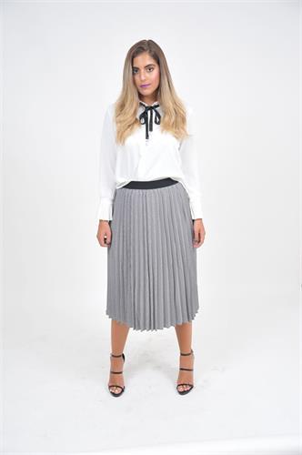 חצאית מקסי וחולצת ערב