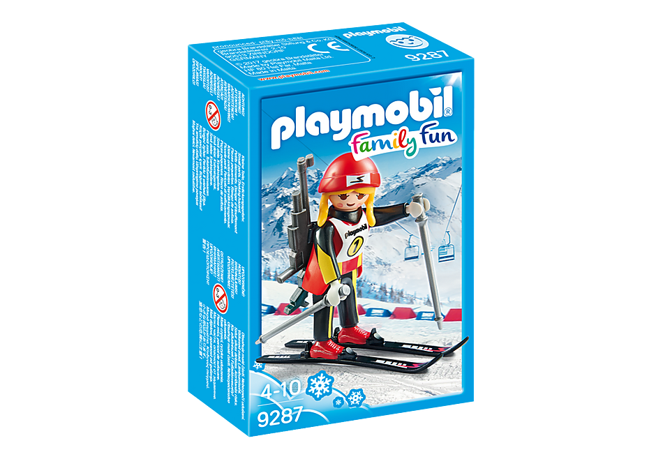 פליימוביל 9287 גולשת על שלג playmobil