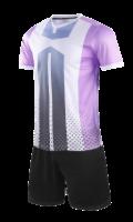 חליפת כדורגל סגול לבן