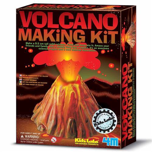 ערכת יצירה יצירת הר געש