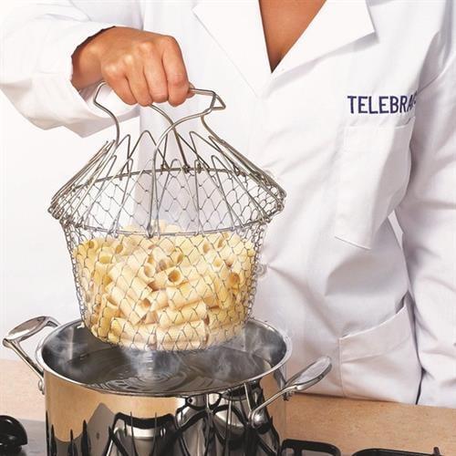 מסננת הפלא לטיגון לבישול ולאידוי בתוך הסיר-  Strainer 3in1