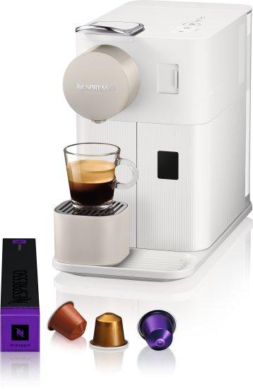 מכונת קפה NESPRESSO לטיסימה One בצבע לבן קטיפתי /שחור דגם F111