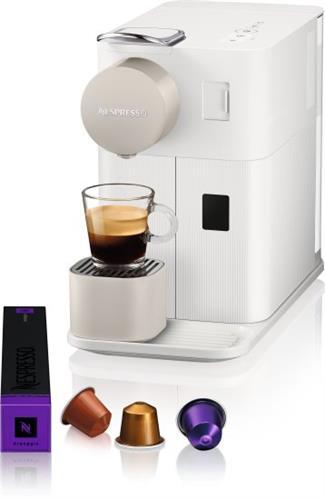 מכונת קפה NESPRESSO לטיסימה One בצבע לבן קטיפתי דגם F111